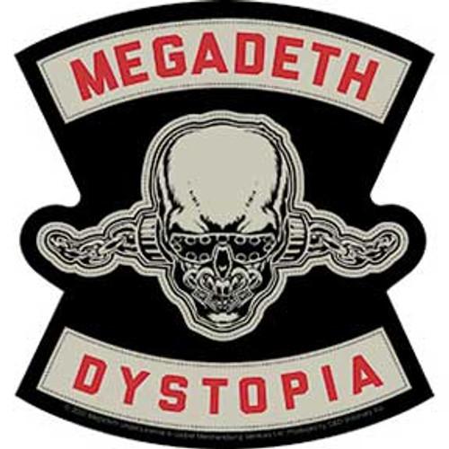 Megadeth Dystopia Die Cut