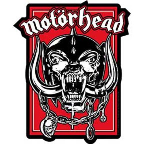 Motorhead Warpig in Red Sticker