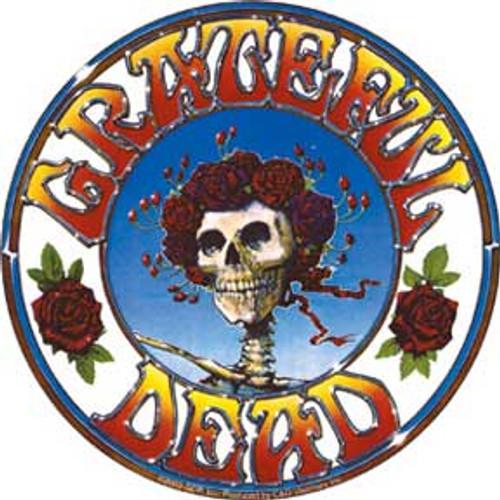 Grateful Dead Skull & Roses Sticker