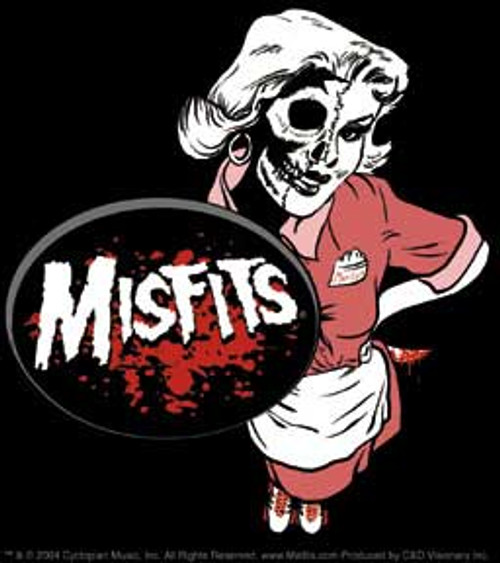 Misfits Waitress Sticker