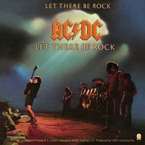 AC/DC Let There Be Rock Sticker