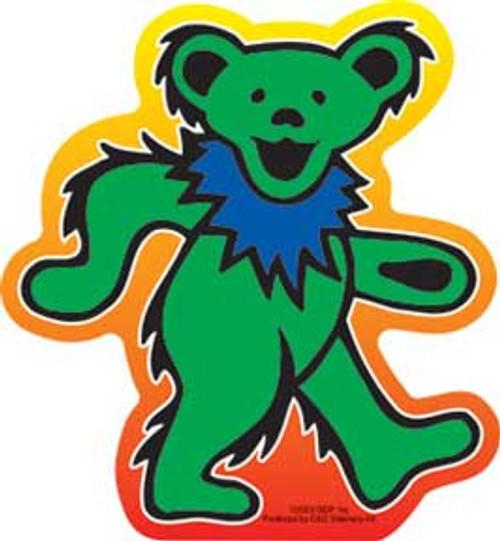 Grateful Dead Dancing Bear Die Cut Sticker