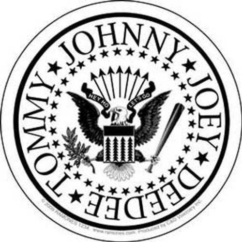 Ramones White Eagle Sticker