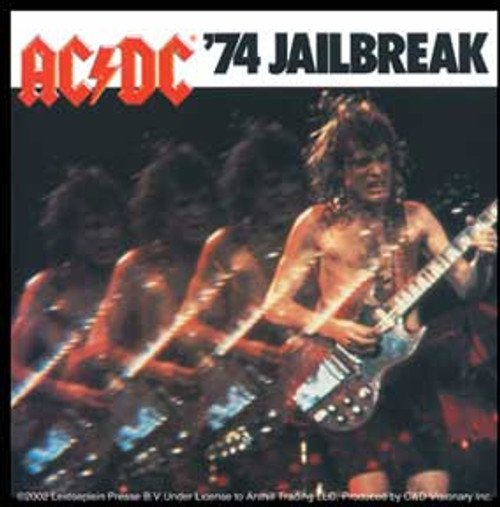 AC/DC '74 Jailbreak Sticker