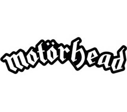 Motorhead Die Cut Logo Sticker