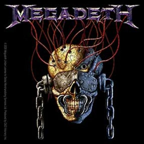 Megadeth Skull Wire Sticker