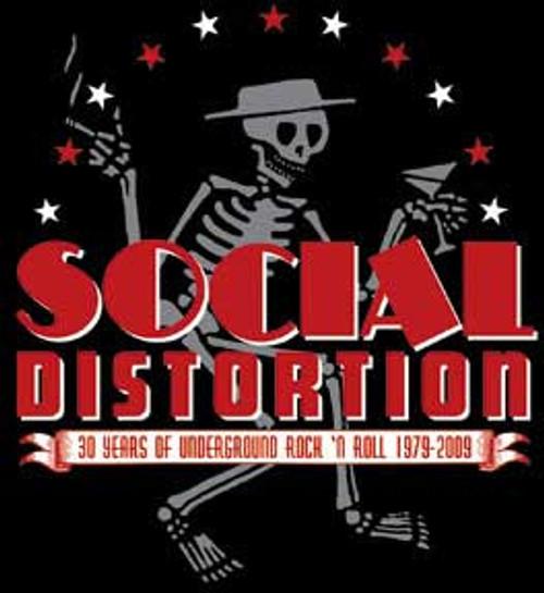 Social Distortion 30th Anniversary Sticker