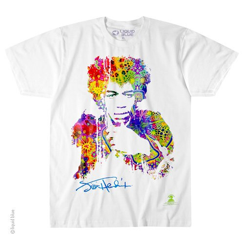 Jimi Hendrix Riding the Wind T-Shirt