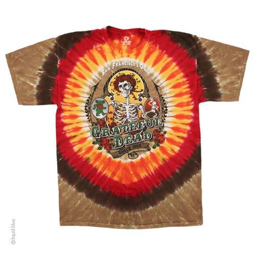 Grateful Dead Bay Area Beloved Tie Dye T-shirt