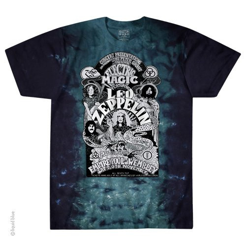 Led Zeppelin Electric Magic Tie Dye T-shirt