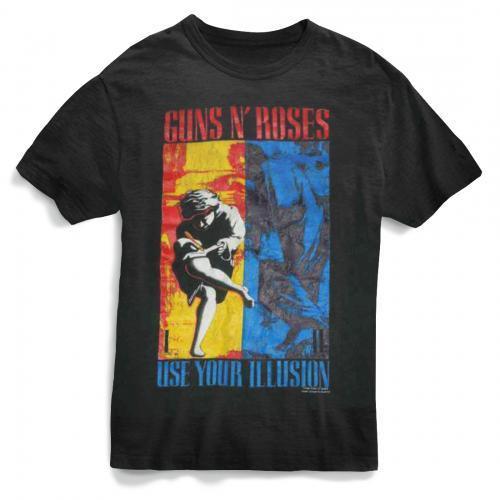 Guns N Roses 1991 Illusion T-Shirt