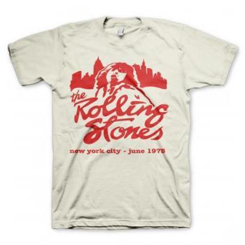 Rolling Stones Mick in New York City June 1975 T-Shirt