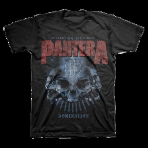 Pantera Domination Distressed T-Shirt