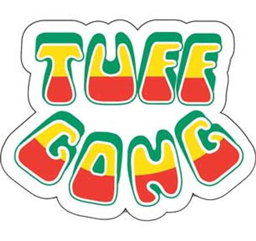 Bob Marley Tuff Gong Sticker