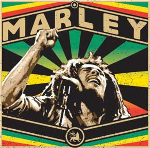 Bob Marley Rise Up Sticker