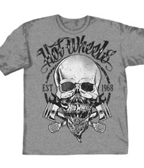 Hot Wheels Bandana Skull T-Shirt