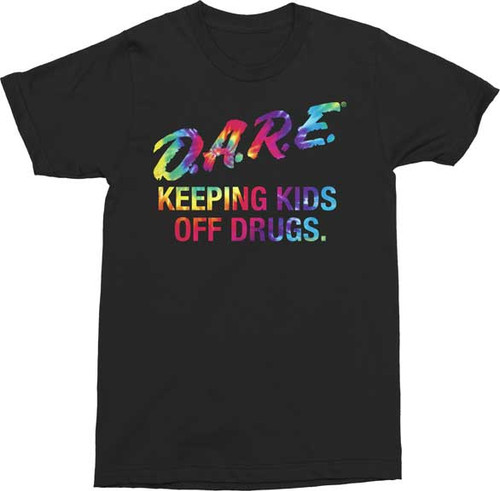 D.A.R.E. Tie Dye T-Shirt