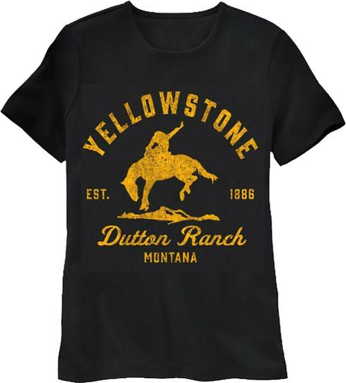 Yellowstone Women's Cut Dutton Ranch T-Shirt