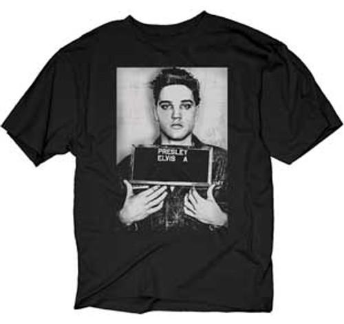 Elvis Army Mugshot Photo T-Shirt