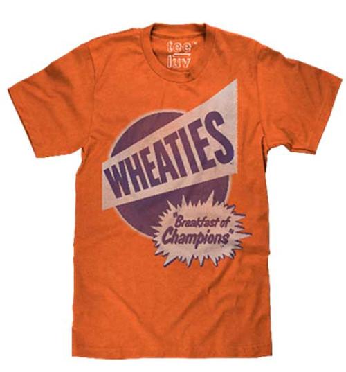 """Wheaties """"Breakfast of Champions"""" T-Shirt"""