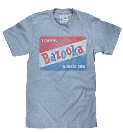 Bazooka Bubble Gum Distressed Logo T-Shirt