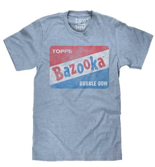 Bazooka Bubble Gum Distressed Logo T-Shirt