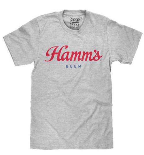 Hamm's Red Script T-Shirt