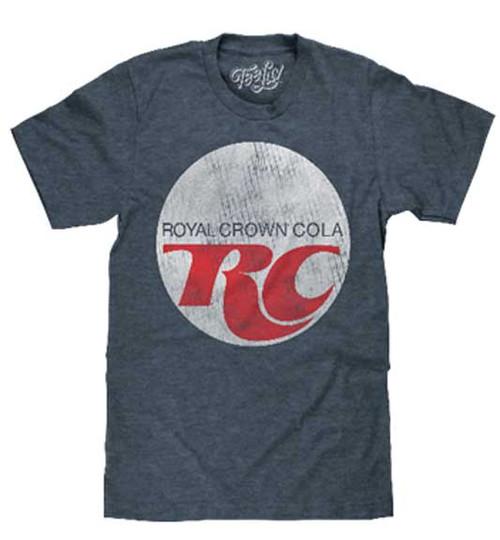 RC Cola Distressed Vintage Logo T-Shirt