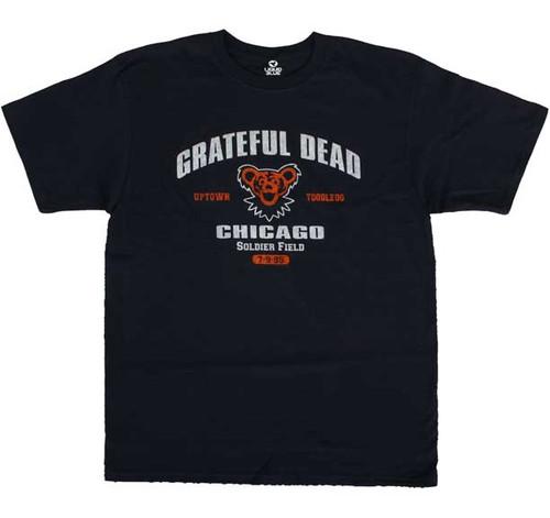 Grateful Dead Chicago Soldier Field 1995 T-shirt