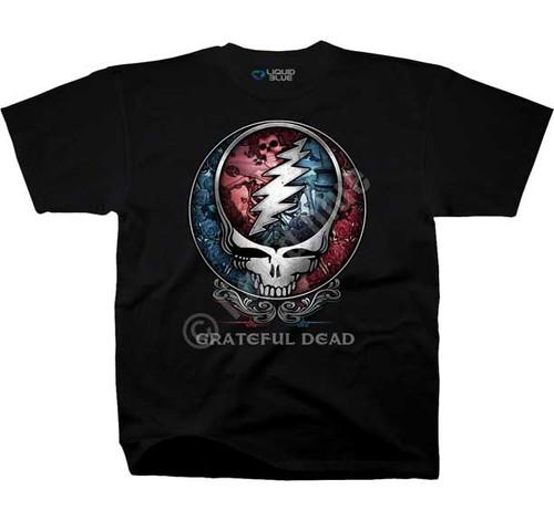 Grateful Dead Bertha Steal Your Face T-shirt