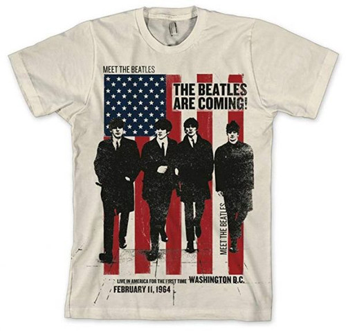 Beatles Are Coming 1964 T-Shirt