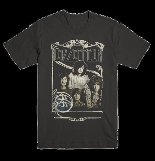 Led Zeppelin 1969 Band Promo T-Shirt