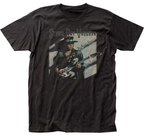 Stevie Ray Vaughan and Double Trouble Texas Flood T-Shirt