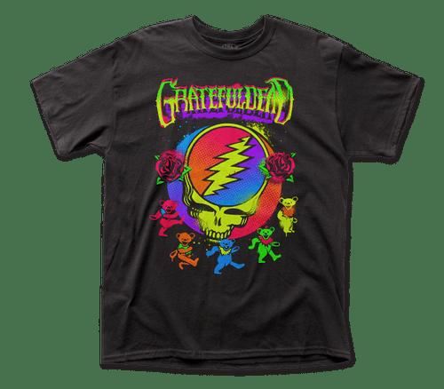 Grateful Dead Neon Splatter T-shirt
