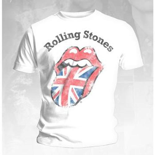 Rolling Stones Distressed Union Jack T-Shirt