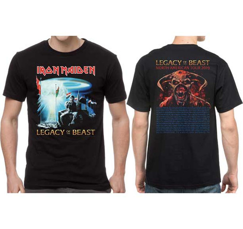 Iron Maiden Legacy of the Beast 2019 Tour T-Shirt