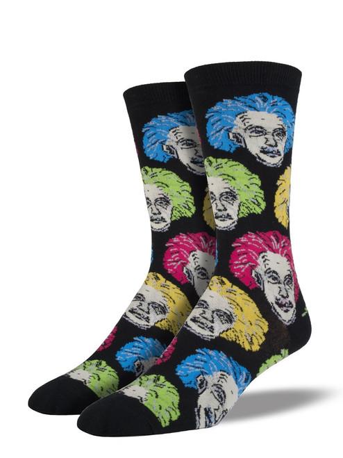 Men's Einstein Heads Socks