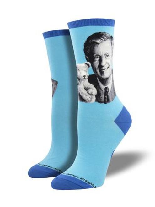 Women's Mr. Rogers Portrait Socks