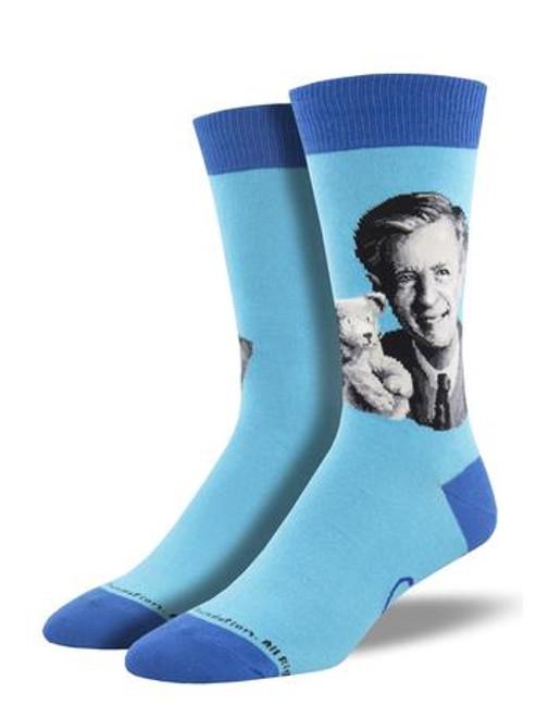 Men's Mister Rogers Portrait Socks