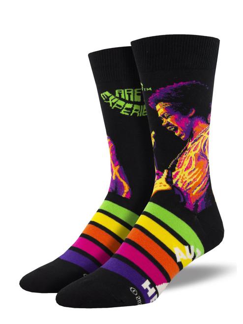 """Men's Hendrix """"Psychedelic"""" Socks"""