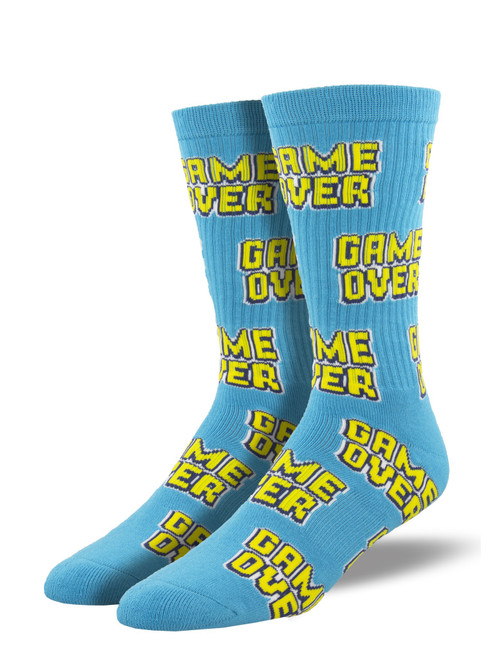 """""""Game Over"""" Athletic Socks"""