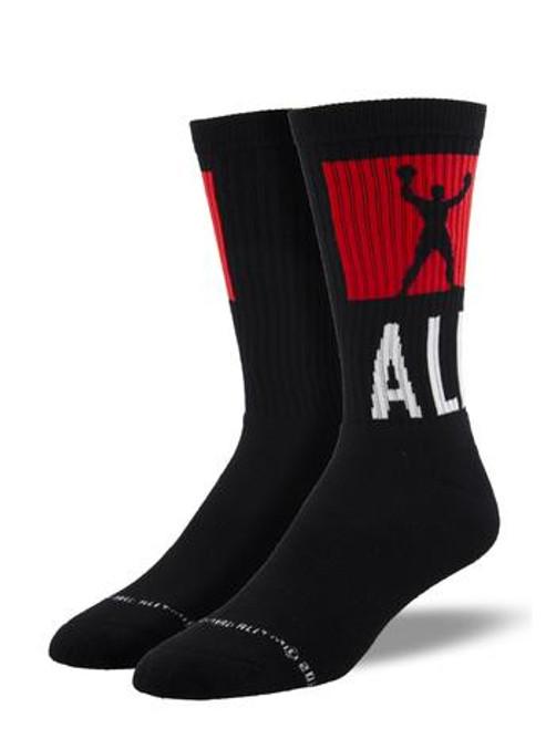 The Greatest Muhammad Ali Athletic Socks