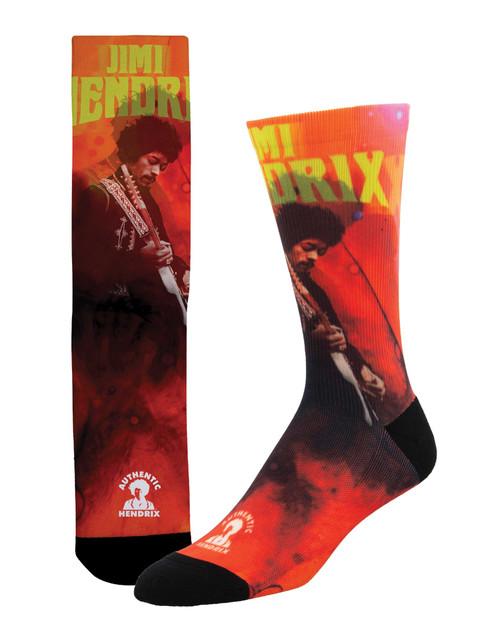 "Jimi Hendrix ""Dark Lava"" Socks"