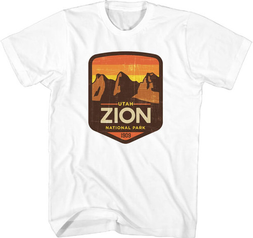 National Parks Foundation Zion T-Shirt