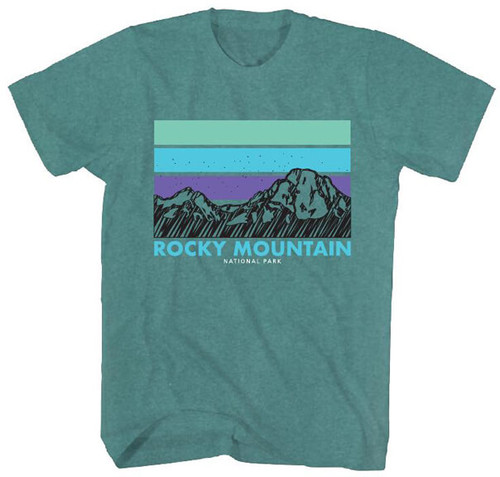 National Parks Foundation Rocky Mountain T-Shirt