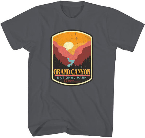 National Parks Foundation Grand Canyon Patch T-Shirt