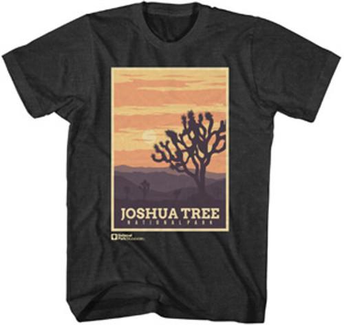 National Parks Foundation Joshua Tree Poster T-Shirt