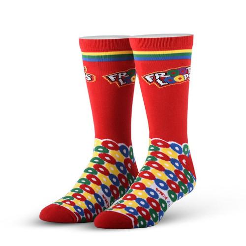 Froot Loops Cereal Crew Socks