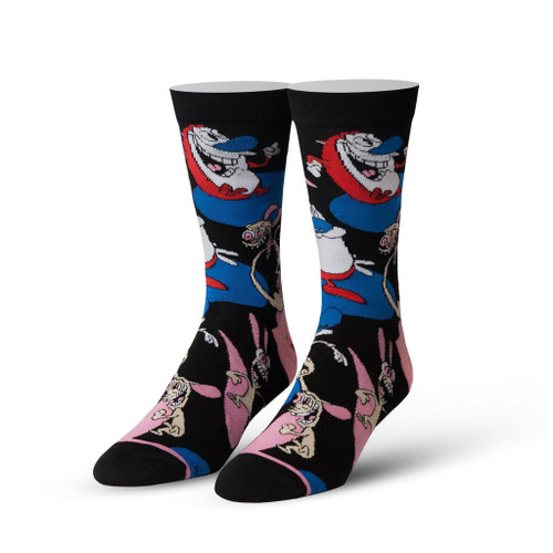 Ren and Stimpy Crew Socks