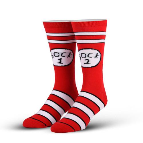 Sock 1 and Sock 2 Crew Socks